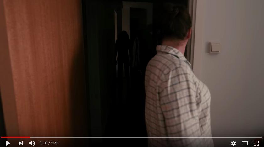 Screen Shot Lights Out Short Movie