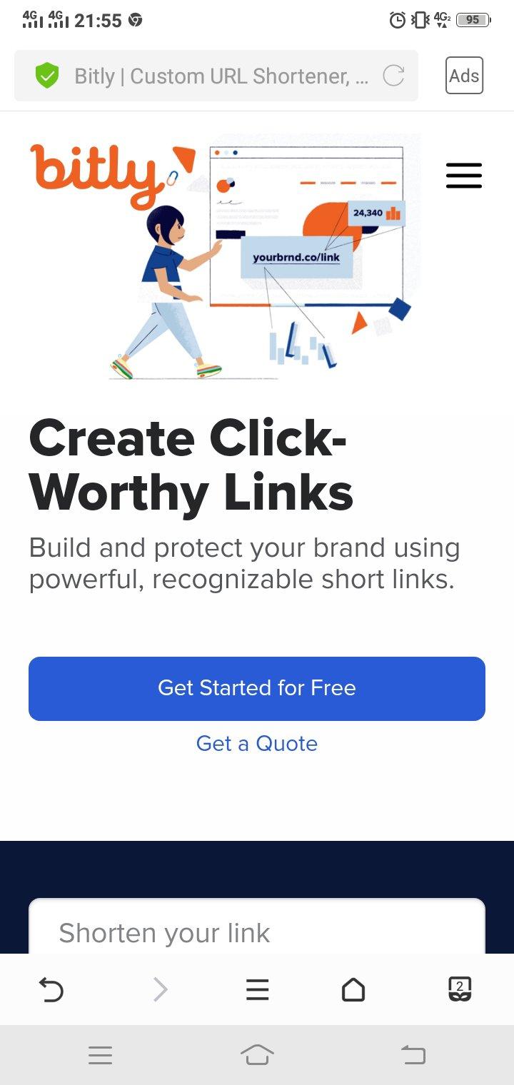 Bit ly website