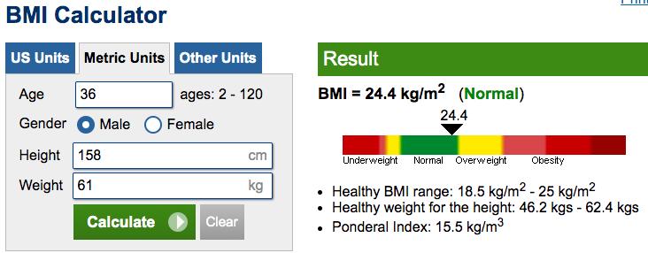 How Fat Am I BMI calculator
