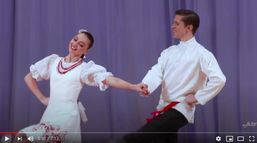 Igor Moiseyev Ballet Dance in Youtube