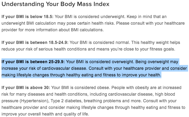 How Fat Am I BMI obese