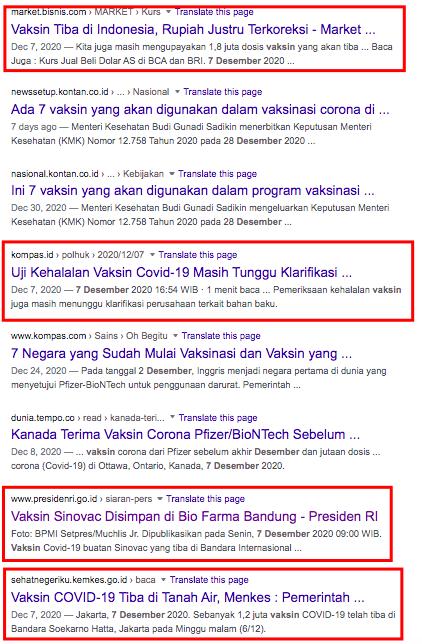 Google trend vaksin