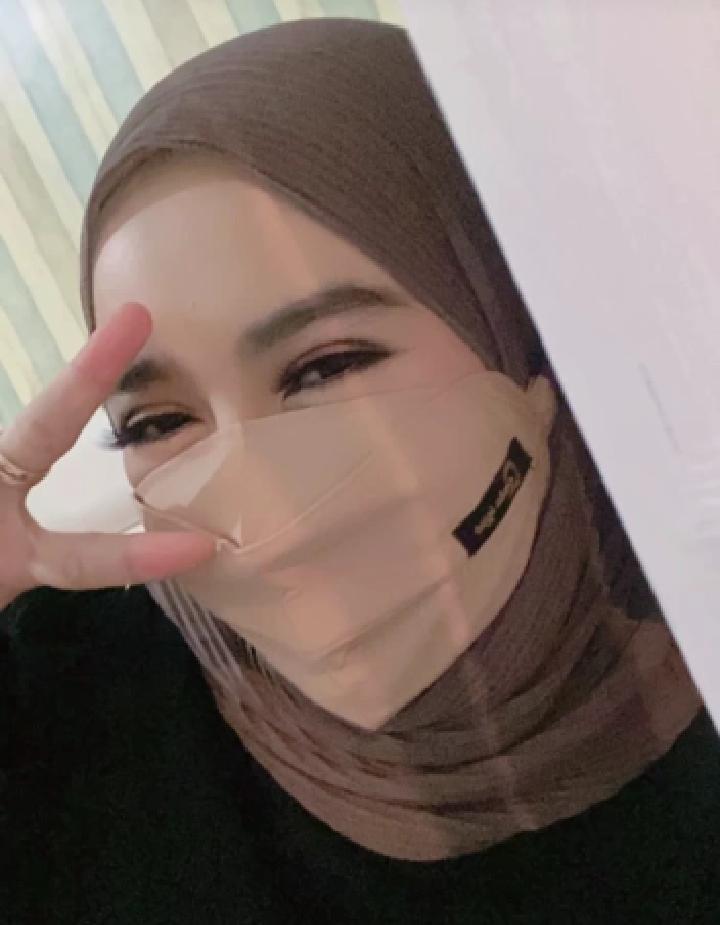 masker kain hijab yang bagus